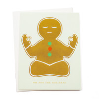 Om for the Holidays Card