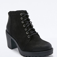 Vagabond Grace Leather Lace-Up Boots in Black - Urban Outfitters