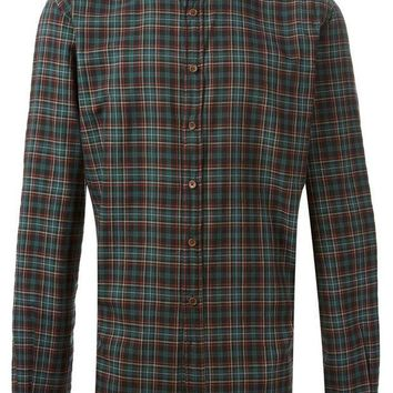 CREYONJF Koike Barcelona plaid pattern shirt