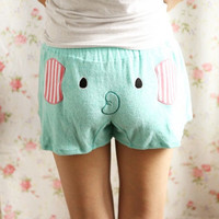 Cute Elephant Shorts