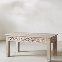 Rashmi Carved Coffee Table | Urban Outfitters