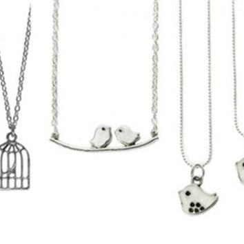 Chic Bird Necklaces-4 Styles-Perfect Valentines Day Gifts