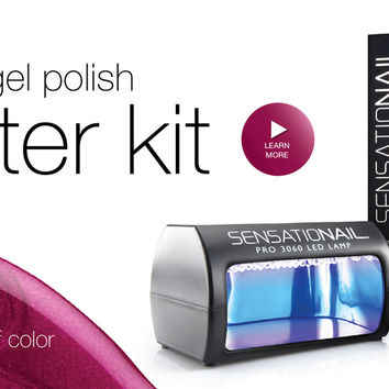 SensatioNail® Gel Nail Polish Kits, Colors & Accessories