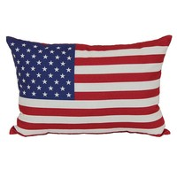 SONOMA outdoors American Flag Outdoor Throw Pillow
