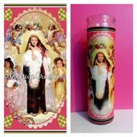 clueless / celebrity prayer candle