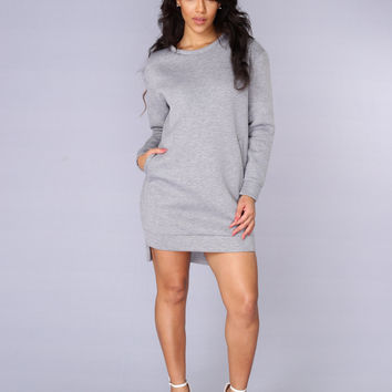 Overprotected Sweatshirt - Grey