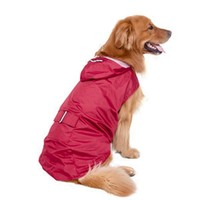 Waterproof Coat with Hood Large Dogs Pet Supplies