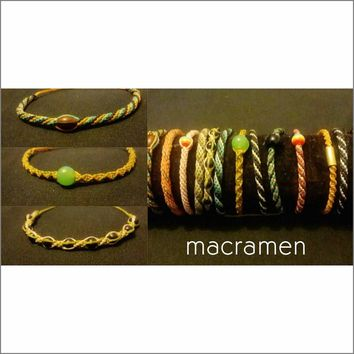 friendship bracelets unique micro macrame jewelry collections