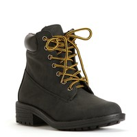 Sale-black Tin Work Boots