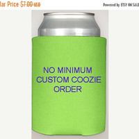 Custom coolie order, no minimum, bachelorette can coolers, bachelor cosy, custom coozees, wedding favors, party decorations, crafty