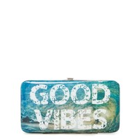Good Vibes Hinged Wallet