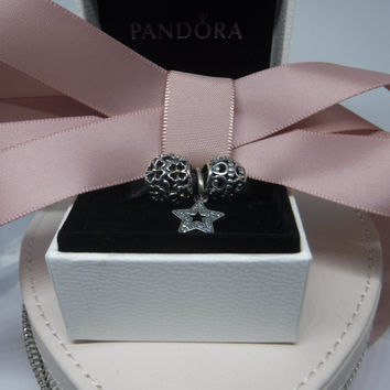 Authentic Pandora Charms Three Charm Gift Set