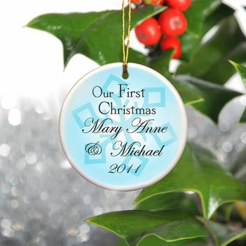 Our First Christmas Ornament - Style 8