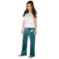 Touch By Alyssa Milano Philadelphia Eagles Ladies Star Player Pants - Midnight Green