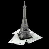 LEGO.com Architecture Eiffel Tower