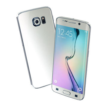 Samsung Galaxy S6 EDGE SATIN PEARL WHITE Skin