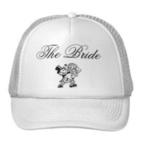 The Bride Wedding Hat from Zazzle.com