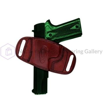 Tagua HK 45 Quick Draw Belt Holster Brown Left Hand BH2-523