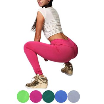 Women High Waist Yoga Running Sport Pants