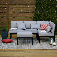 Outdoor Oasis™ Palm Beach 4pc Sectional - JCPenney