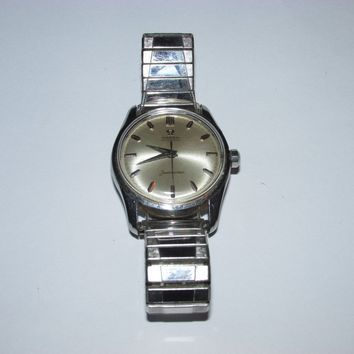 Vintage Omega Automatic Seamaster Wrist Watch, Mens, Nice Working Condition!