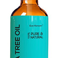 Tea Tree Oil - HUGE 4oz - Pharmaceutical Grade - 100% Pure & Natural - With Glass Dropper - SEE RESULTS OR MONEY-BACK - Natural Antiseptic & Best Remedy to Combat dandruff, acne, toenail fungus & more