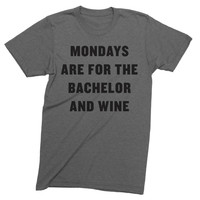 Mondays Bachelor and Wine Tee