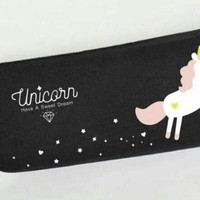 Mysterious Unicorn - Canvas Bag
