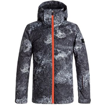 Quiksilver Kid's 8-16 Travis Rice Mission Snow Jacket