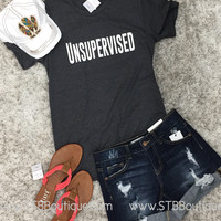 Unsupervised Graphic Tee - SM-2XL