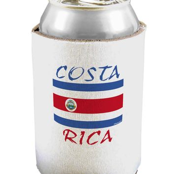 Costa Rica Flag Can / Bottle Insulator Coolers