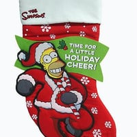Christmas Stocking - Homer Simpson