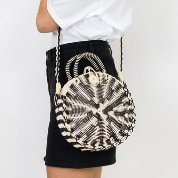 Soak It Up Straw Crossbody