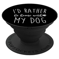 Home With My Dog PopSockets Stand for Smartphones and Tablets