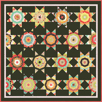 Chestnut Street Quilt Kit by Fig Tree & Company for Moda Fabrics, Midnight Quilt Kit