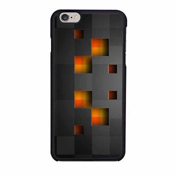 minecraft creeper black iphone 6 6s 4 4s 5 5s 6 plus cases