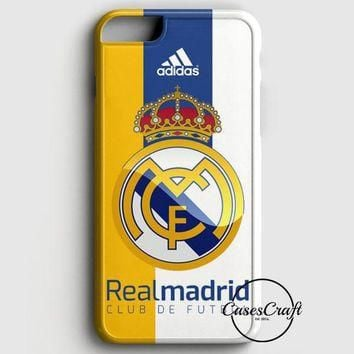 Real Madrid Fc Jersey Black Adidas iPhone 8 Case | casescraft