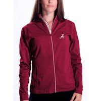 Alabama Crimson Tide Levelwear Women's Aurora Script Jacket - Crimson