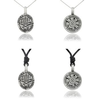 Horoscope Silver Pewter Charm Necklace Pendant Jewelry
