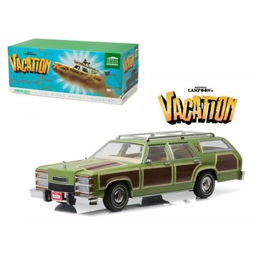 1979 Family Truckster Wagon Queen \National Lampoon\s Vacation\ (1983) Movie 1-18 Diecast Model Car by Greenlight