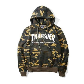 Strong Character Hoodies Tops Long Sleeve Pullover Jacket [10176396167]