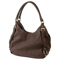 Merona® Zip Closure Hobo Handbag- Brown