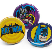 Batman Button Pins