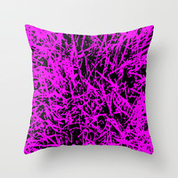 trava v.3 Throw Pillow by trebam
