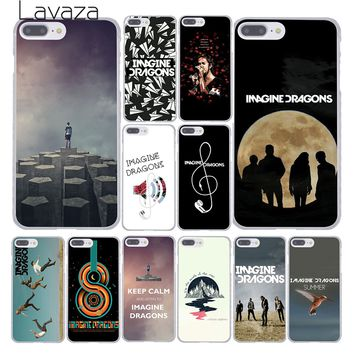 Lavaza imagine dragons night music Hard Skin Phone Cover Case for Apple iPhone 10 X 8 7 6 6s Plus 5 5S SE 5C 4 4S Coque Shell