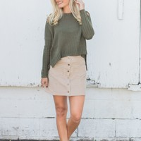 Rolling Hills Sweater - Olive