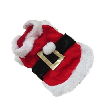 Christmas Pet Clothes Dog Clothes & Cat Clothes
