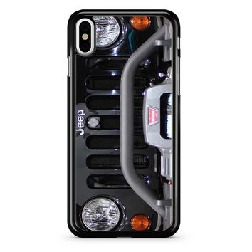 Jeep Wrangler Black Ops iPhone X Case