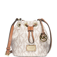 Michael Michael Kors Signature Print Small Jules Crossbody