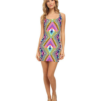Mara Hoffman Racerback Mini Dress